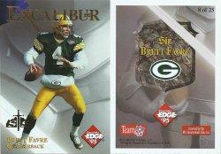 1995  Excalibur 22K Sword & Stone Gold #8 Brett Favre