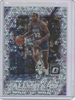 2018 Panini Optic Magic Johnson all stars fast break silver