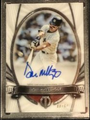 2017 Topps Topps Tribute to the Moment Autographs #TTMDM Don Mattingly/60