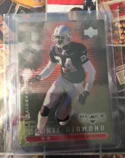 1998 Upper Deck Black Diamond Rookie Double Charles Woodson