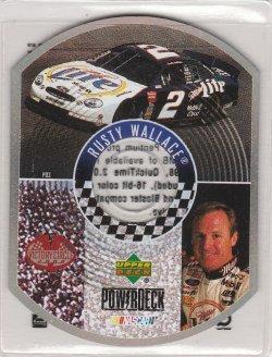 2000 Upper Deck Victory Rusty Wallace Powerdeck