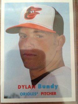 2015 Topps Archives Dylan Bundy