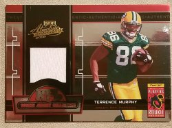 2005 Playoff Absolute Memorabilia Rookie Jersey Collection  Terrence Murphy