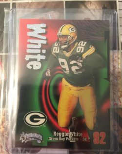 1998 Skybox Thunder Rave Reggie White