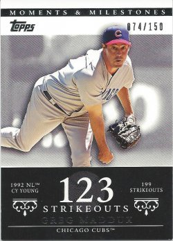2007 Topps Moments and Milestones 13-123