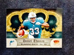 2012 Panini Crown Royale Retail Daniel Thomas #49