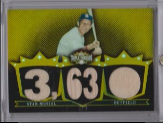 2007 Topps triple threads stan musial
