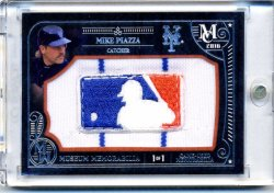 2016 Topps Museum  Mike Piazza 1/1 Logoman Patch