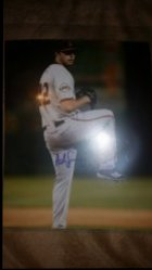 Andrew Suarez 8x10 IP Autograph