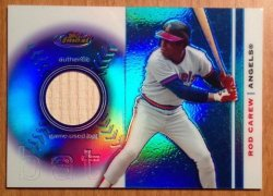 2003 Topps Finest Bat Relics Rod Carew