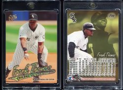 1997  Fleer Ultra Platinum Medallion Frank Thomas