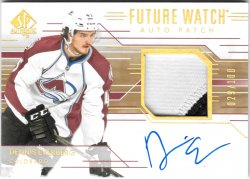 2014-15 Upper Deck SP Authentic Future Watch Auto Patch Dennis Everberg