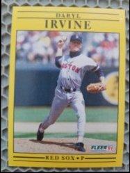 1991 Fleer  Daryl Irvine