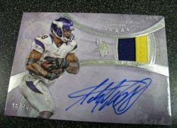 2013  Topps Five Star Adrian Peterson Auto Patch