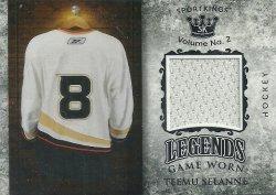 2021  Sport Kings Volume 2 Legends Relics Selanne