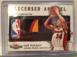 2004 Fleer Patchworks Mike Dunleavy Patch /150
