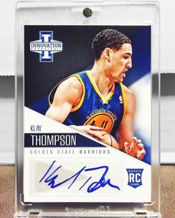 2012 Panini  Klay  Thompson Auto