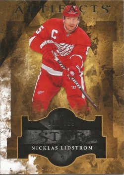 2011 Upper Deck Artifacts Star Nicklas Lidstrom