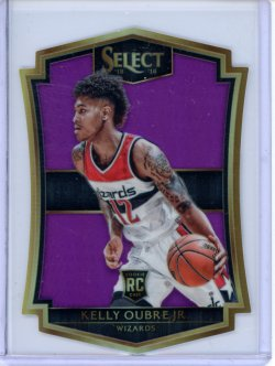 2015-16 Panini Select Kelly Oubre Purple Prizm