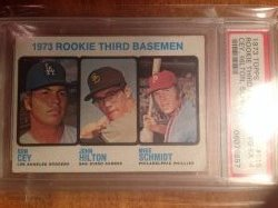 1973 Topps  Mike Schmidt rc