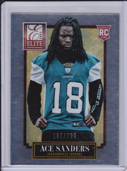 Ace Sanders 2013 Elite RC /799