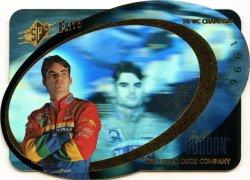 1997 Upper Deck SPX Racing Jeff Gordon