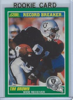 1989 Score  Tim Brown