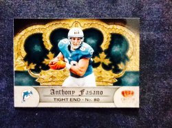 2012 Panini Crown Royale Retail Anthony Fasano #51