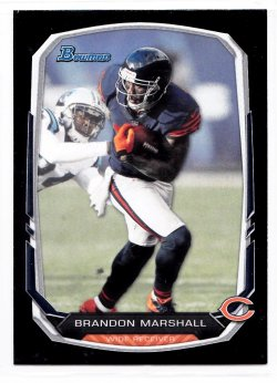 2013 Bowman Black Brandon Marshall