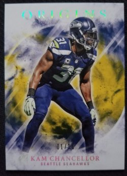 2017 Panini Origins Gold Kam Chancellor
