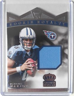 2015 Panini Crown Royale Marcus Mariota Rookie Royalty Materials