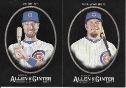 2017 Allen & Ginter X Cubs 2