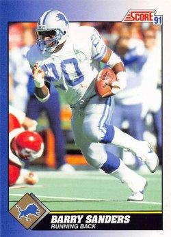1991  Score Barry Sanders