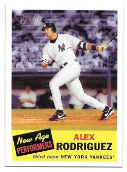 2005 Topps Topps Heritage New Age Performers Alex Rodriguez