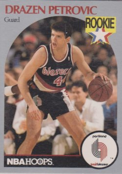 1990-91  Hoops Drazen Petrovic