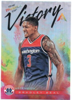 2017-18 Panini Ascension Beal, Bradley - Thrill of Victory