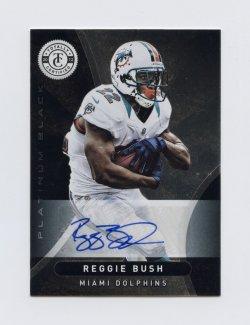 2012 Totally Certified Black Signatures #22 Reggie Bush 1/1