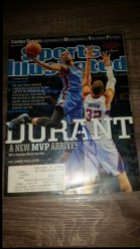 2014  Sports Illustrated  Kevin Durant IP Autograph