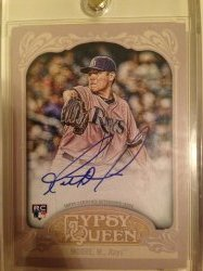 2012 Topps Gypsy Queen Matt Moore