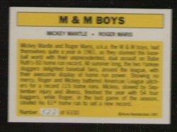 M & M Boys 522 of 6100 back