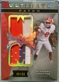 2013 Upper Deck Ultimate Collection DeAndre Hopkins ultimate patch