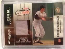 2002 Donruss  Brooks Robinson Patch /76