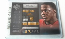 2014 Panini Prestige Big Bored  Teddy Bridgewater