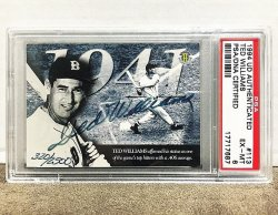 1994 Upper Deck Authenticated Ted Williams Auto PSA 6 /2500