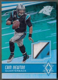 2016 Panini Phoenix Veteran Jerseys Green Cam Newton
