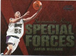 1999-00 Fleer Force Williams, Jason - Special Forces