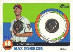 Topps Heritage Max Scherzer