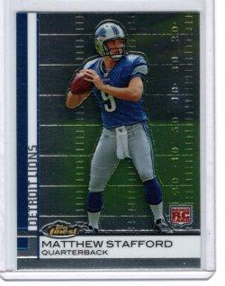 2009 Topps Finest Matthew Stafford