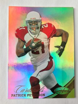 2012 Panini Certified  Gold Patrick Peterson /25