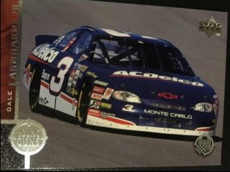 1998 Upper Deck YOUNG GUNS  DALE EARNHARDT JR  #83         AC DELCO  #3